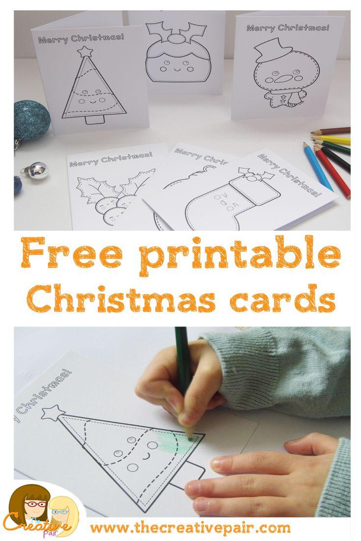 Free Christmas Card Printables Christmas Christmas Cards