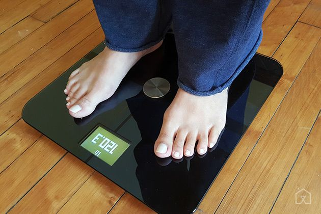 bathroom scale withings test