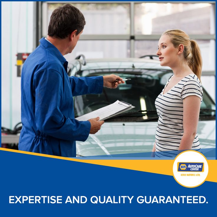Kirk Motors NAPA Auto-Care Center… expertise and quality guaranteed. #Kirkmotors #servicedepartment #carservicing