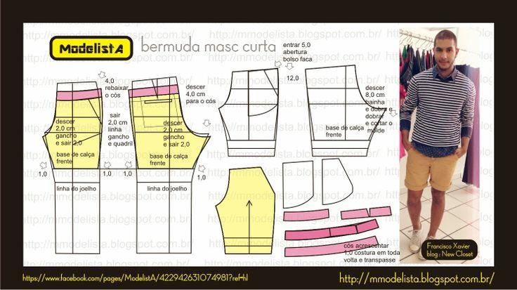 ModelistA: Men's bermuda shorts