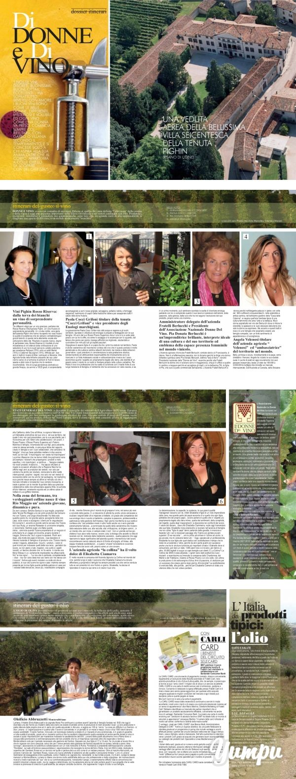 Donna Impresa Magazine - Magazine with 9 pages: Donna Impresa Magazine