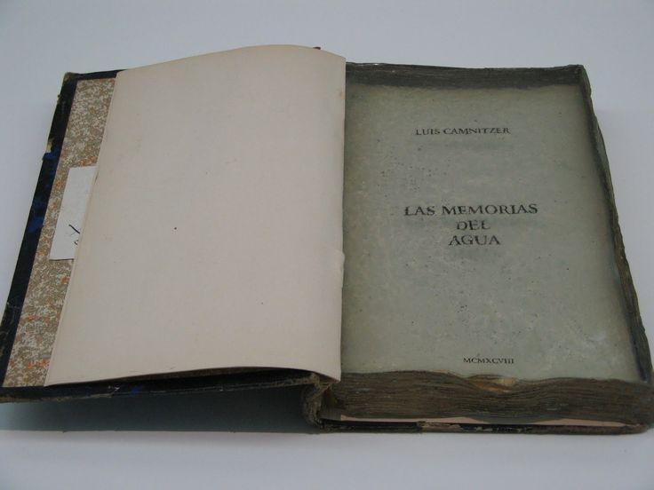 Luis Camnitzer - Las memorias del agua - 1998
