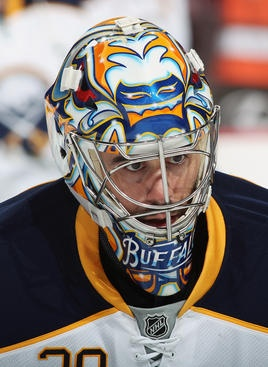 Ryan Miller's back is still hurting from carrying the team on it all season...