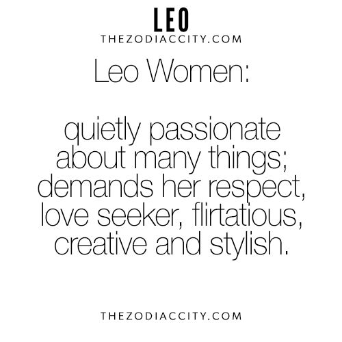 Zodiac Leo Women. For more interesting facts on the zodiac signs, click here.