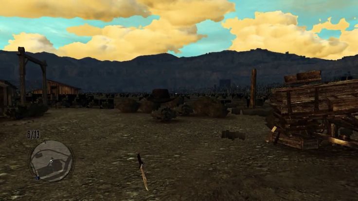 Red Dead Redemption: First time going ingame in RPCS3 (i7-4790k)
