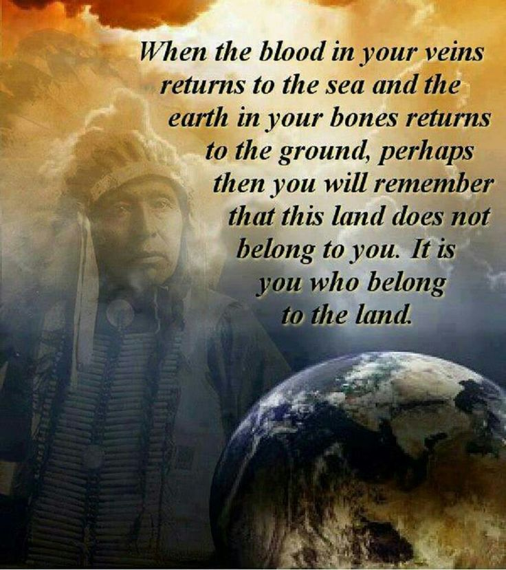 I am half Cherokee Indian and half Italian, so I teasingly and lovingly call my self a WOPAHO...so I love this saying.
