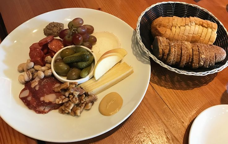 Quattro charcuterie (2 meats, 2 cheeses) from Gudrun on our Steveston village food crawl http://bit.ly/2pLBBDz