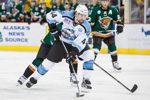Nate Thompson #44 Alaska Aces