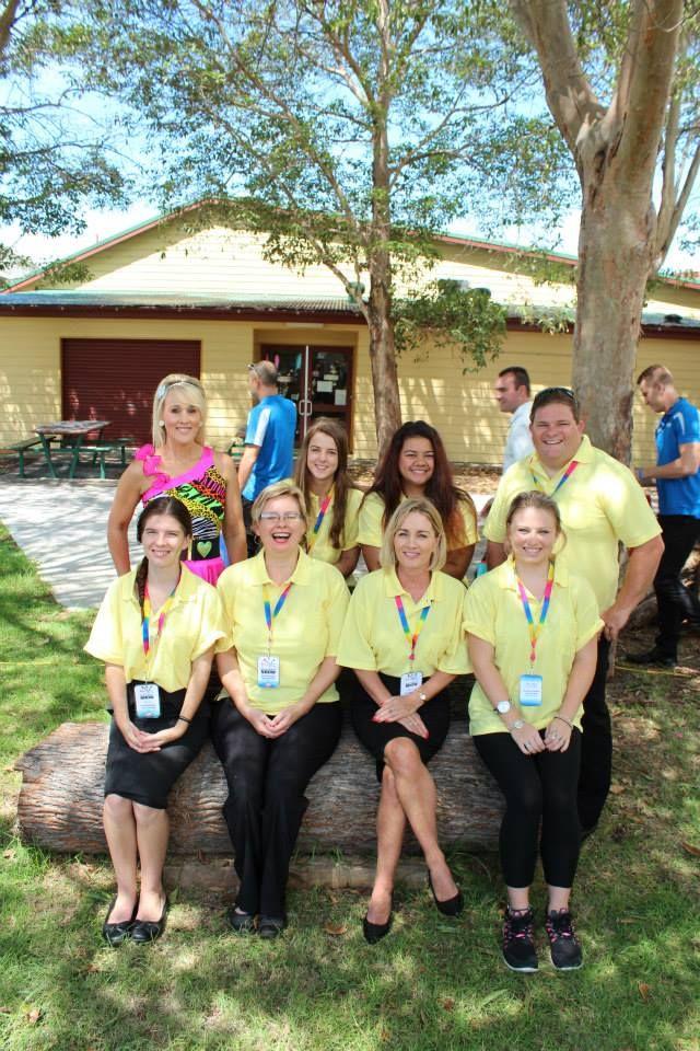 Group shot of marketing team volunteers.