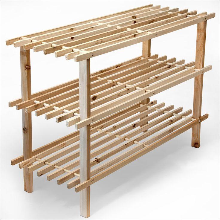 schuhregal holz google search einrichtungsart pinterest. Black Bedroom Furniture Sets. Home Design Ideas