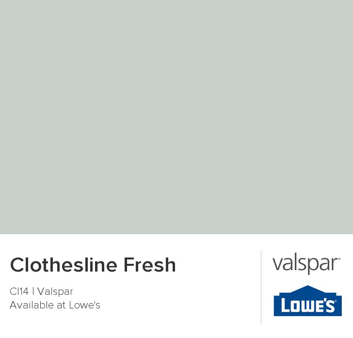 Clothesline Fresh from Valspar