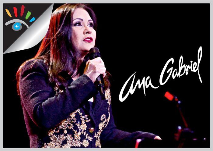 Ana Gabriel is een Mexicaans zangeres. Ze gaf haar eerste optreden op haar zesde en brak door toen ze ongeveer 23 jaar oud was. Ze zingt Latijns-Amerikaanse popmuziek.