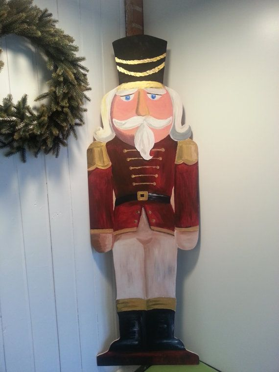 1000 ideas about nutcracker soldier on pinterest for 4 foot nutcracker decoration