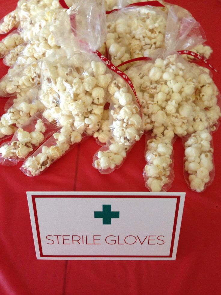 """""""Sterile Gloves"""" at my Nursing Graduation Party!"""