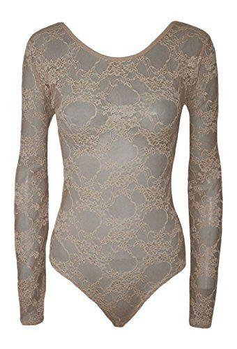 New Trending Bodysuits: Hot Hanger Womens Long Sleeve Lace Floral Bodysuit Leotard Body Top UK 8-28(8-10 (SM), Mocha). Hot Hanger Womens Long Sleeve Lace Floral Bodysuit Leotard Body Top UK 8-28(8-10 (SM), Mocha)   Special Offer: $6.99      155 Reviews Womens Lace Long Sleeve BodysuitDEAR CUSTOMER PLEASE NOTE THAT ONLY HOT HANGER AND FUNKY BOUTIQUE ARE SELLING CERTIFICATED BATWING TOPS, OTHERS SELL POOR...