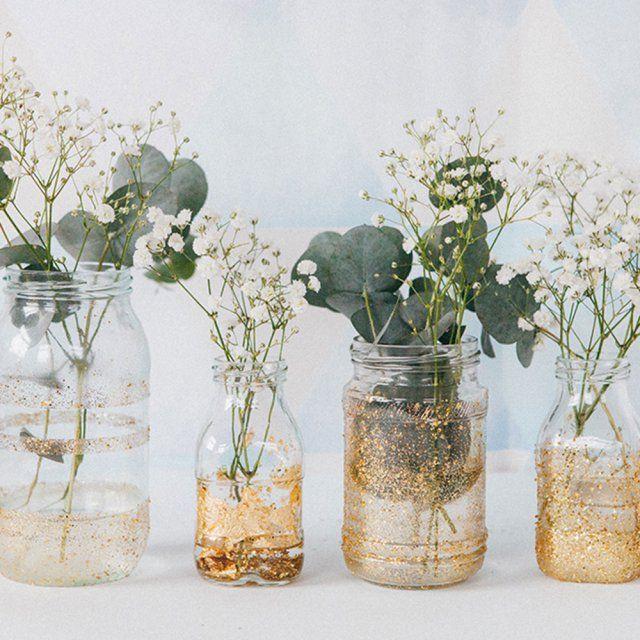 Les 25 meilleures id es concernant vase en verre sur pinterest grand vase e - Customiser table en verre ...