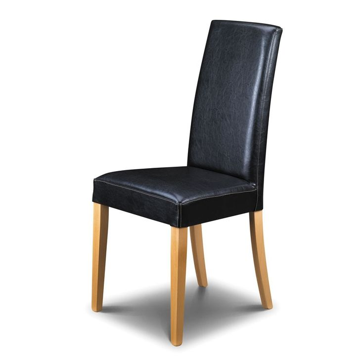 dining chairs black leather