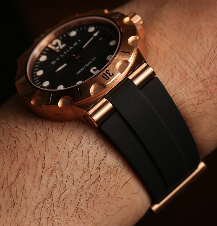 Bulgari Diagono Scuba Watch Hands-On Hands-On