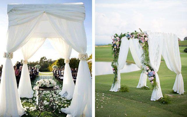 Свадебные арки: 8 трендов сезона 2014