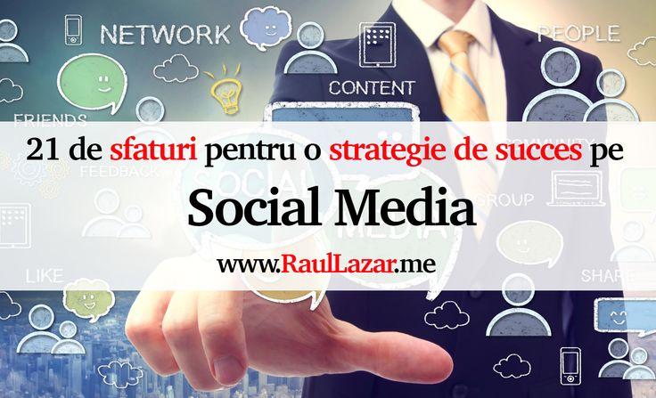 """Te-ai întrebat vreodată cum să folosești Social Media pentru a genera vânzări? Sau care sunt cele mai bune moduri de a avea o strategie de succes pe Social Media? Social Media pe lângă """"brand awareness"""" are potentiatul de a fi una dintre sursele de top în generarea de vânzări. Identif…"""