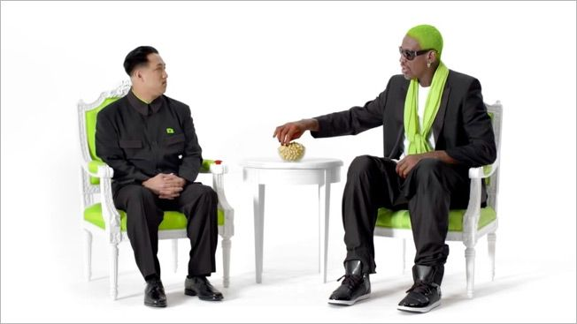 Chapter 6: Celebrity Endorsement. No historical character or celebrity, whether real or animated, is safe from the Wonderful Pistachios ad campaign. Borderline absurdity and comedy blend to make a memorable campaign with a slew of celebrities. The Dennis Rodman one is really edgy and my personal favorite.
