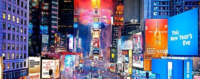Beautiful Times Square #AerieFNO