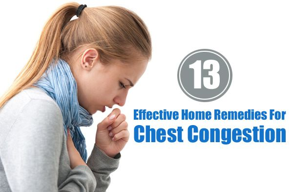 Best Way To Treat Chest Congestion Naturally