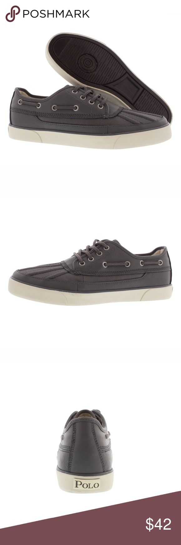 Polo Ralph Lauren Parkstone Low Boat shoe/sneaker Brand new. Black. Simply stylish and great to dress up or down Polo by Ralph Lauren Shoes Boat Shoes