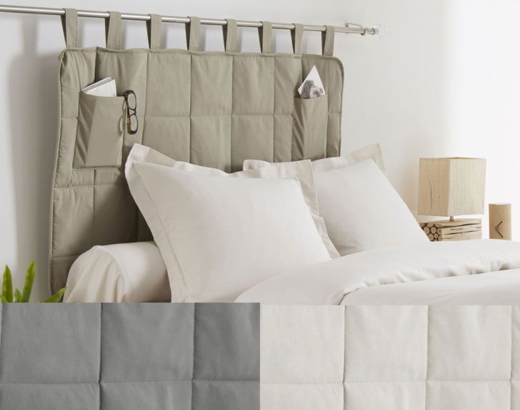 Interior Design Tete De Lit Tissu Tete Lit Matelassee Avec Poches Rangement Becquet Tete Tissu Cana In 2020 Cool Furniture Transforming Furniture Reupholster Furniture