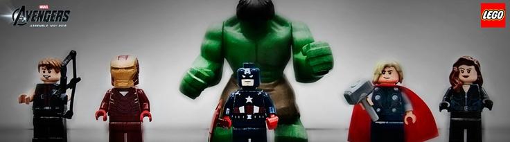 Lego Avengers: Mit diesen Figuren startet Lego dieses Jahr seine neue Superheldenspielzeugreihe. Besonders beeindruckend ist der vergleichsweise riesige Hulk.