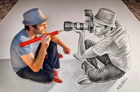 Unik dan luar biasa 77 Karya seni Pensil vs Kamera yang sangat kreatif | Info Finance | Accounting | Technology | Blog