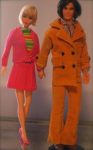 Barbie - Hair Fair Barbie & Mod Hair Ken