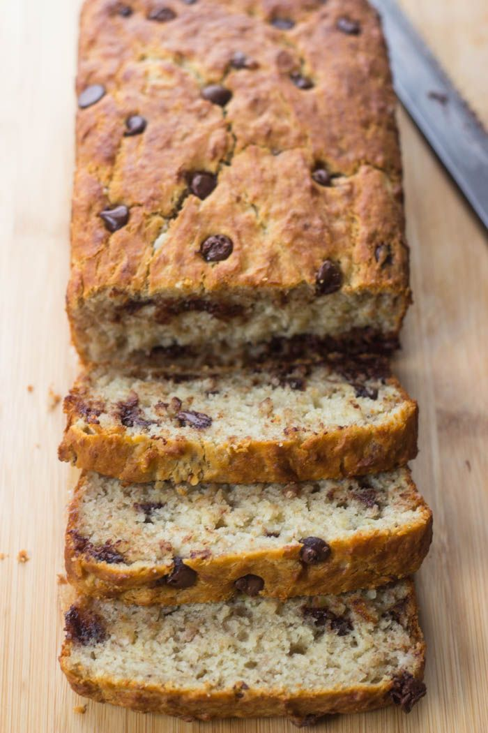 The Best Ever Super Moist Gluten Free Banana Bread. Used honey and coconut oil as sub and it turned out FANTASTIC!