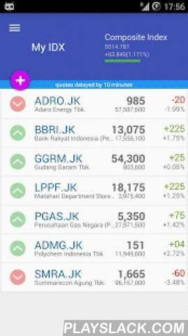 My Bursa Efek Indonesia  Android App - playslack.com ,  My Bursa Efek Indonesia allows you to monitor and manage your portfolio for Indonesia Stock Exchange, IDX or Bursa Efek Indonesia in your mobile phone. It was previously known as Jakarta Stock Exchan