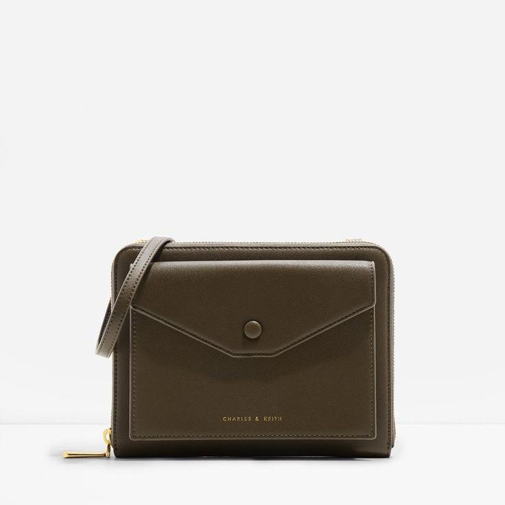 Envelope Crossbody Bag   CHARLES & KEITH
