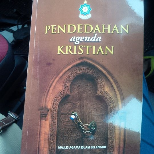 Books warning Muslims about 'Christian agenda' distributed at Allah forum in university