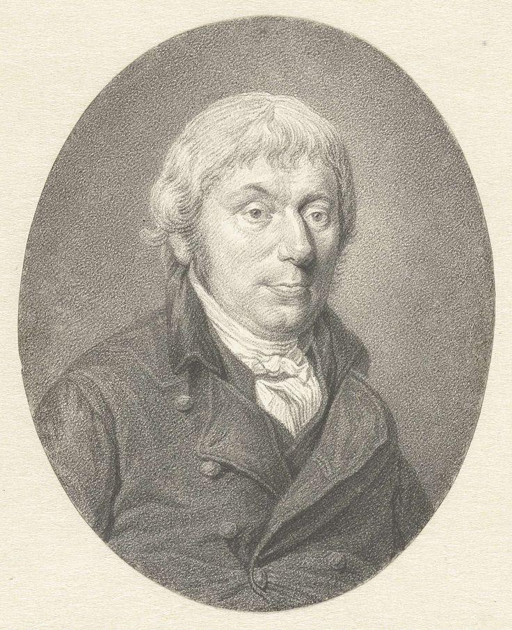 Johannes Cornelis Mertens   Mansportret, Johannes Cornelis Mertens, 1752 - 1823  