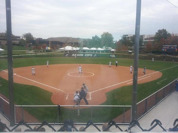 Zipsgameday Photo Akron Softball Vs Kent State Fallball University Of Akron The University Of Akron Akron