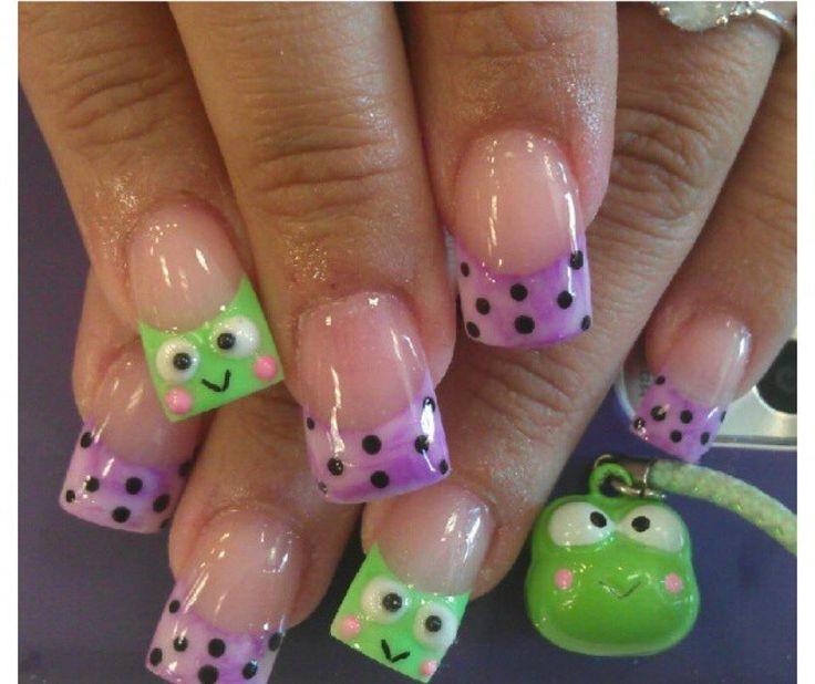 Frog Nails ... I want!