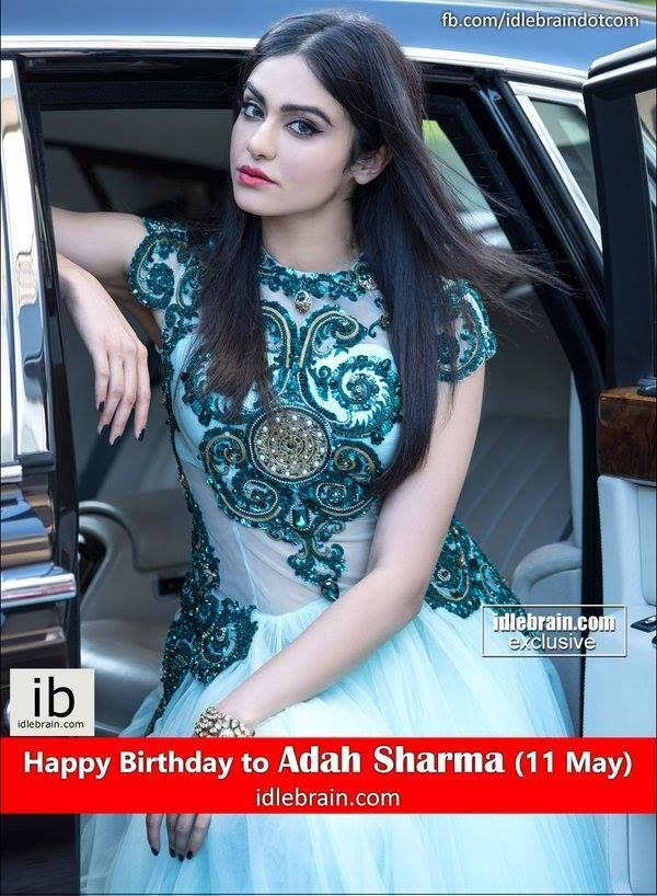 Happy Birthday to Adah Sharma (11 May)