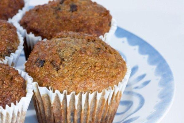 Bran, honey and banana muffins  via MyFamily.kiwi