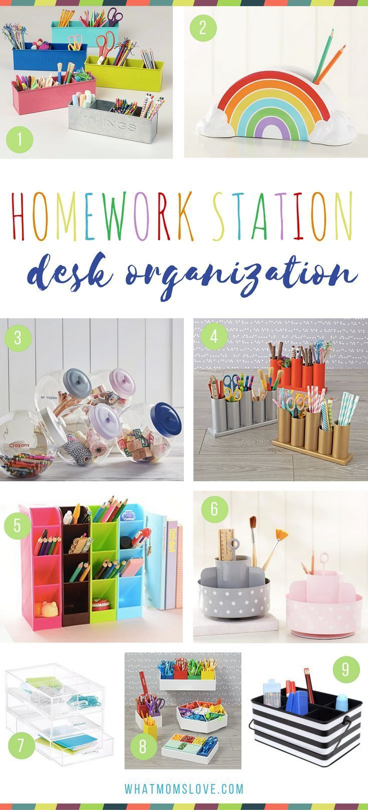 How To Create The Ultimate Homework Station So You Ll Never Have To Ask Is Your Homework Done Ever Again Desk Organization Diy Kids Homework Station Kids Desk Organization