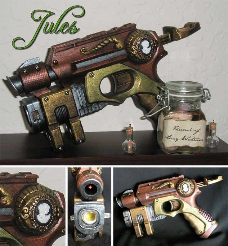 Jules - Nerf Gun Mod by on DeviantArt