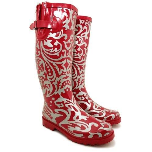 "Spy Love Buy Womens Festival Wellies Wellingtons Boots ""Savannah"""