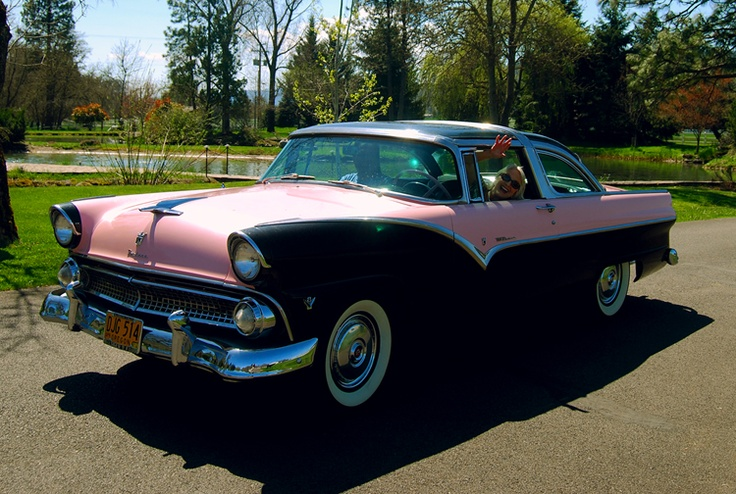 "1955 Ford Fairlane, Crown Victoria, Glass top ""Skyliner ..."