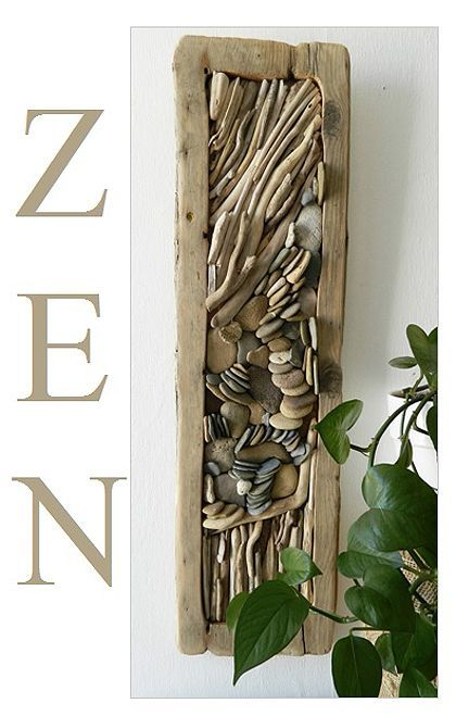 diy Driftwood  WALL DECOR