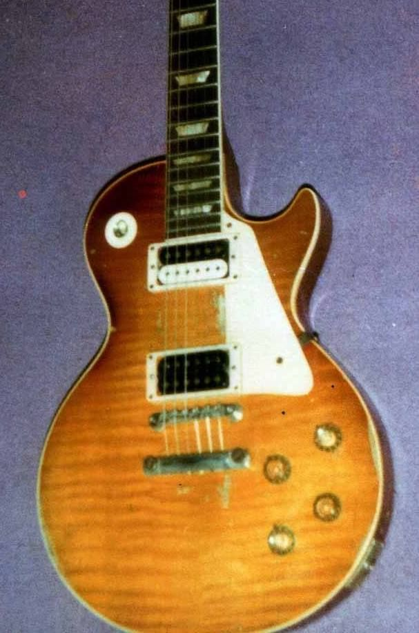 The Bloomfield Burst In Toronto Circa 1980 Gibson Les Paul Vintage Guitars Les Paul