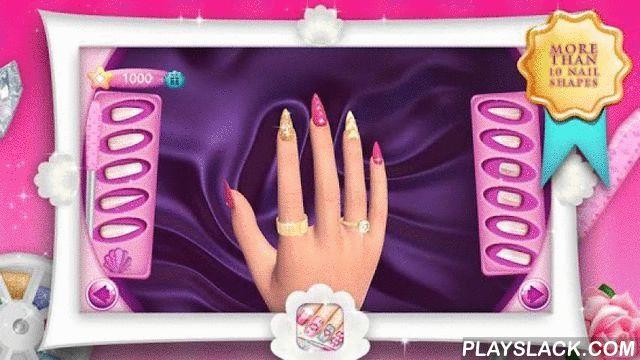 """Fashion Nails 3D Girls Game  Android App - playslack.com ,  ❦ Modieuze meisjes, maak je klaar voor een van de meest opwindende manicuur salon spellen die u zullen helpen uw vaardigheden van de nagel decoratie op een professioneel niveau. ❤Nagel Spelletjes voor Meisjes❤ is hier om u een overvloed aan mooie """"nagels ontwerpen"""" en tal van verbazingwekkende kleuren nagellak, stickers en ringen die je zoveel zult aanbidden bieden. Maak smaakvol ingericht modieuze nagel kunst ontwerpen stap voor…"""