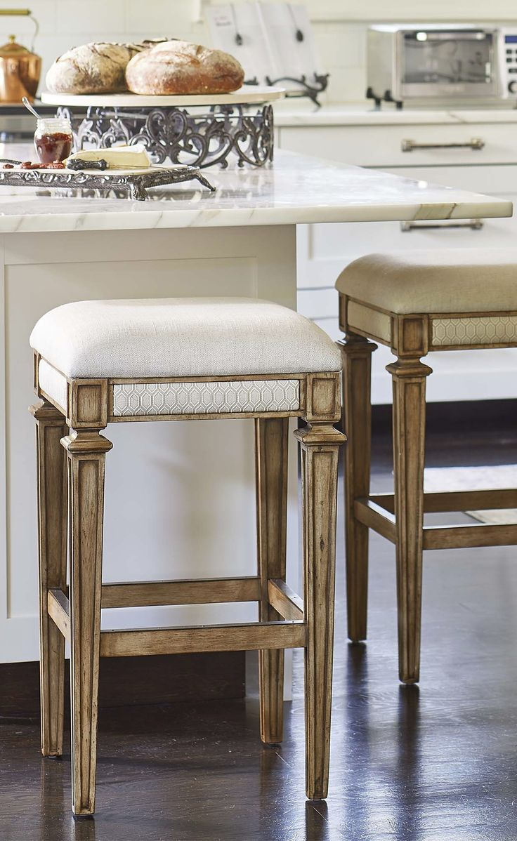 Add An Elegant And Sophisticated Look To Your Home Bar With Our Parker Bar  And Counter. Backless Bar StoolsBar ChairsRemodeled KitchensRanch ...