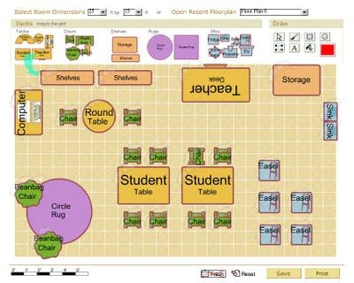 Classroom pinterest for Preschool classroom layout maker